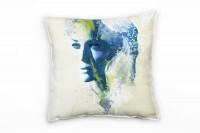 Sharon Stone I Deko Kissen Bezug 40x40cm für Couch Sofa Lounge Zierkissen