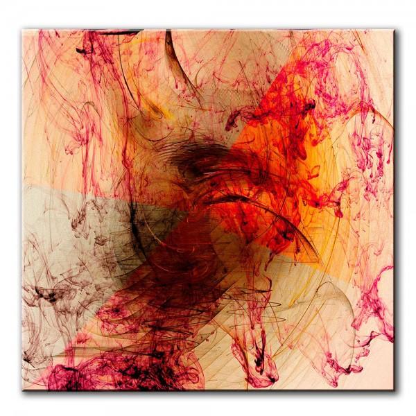 Energie der Neugier, abstrakt, 60x60cm