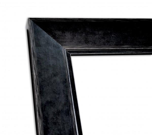 Edle Rahmenleiste in Schwarz Vintage-Optik