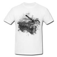 World of Tank Herren und Damen T-Shirt BLACK-WHITE
