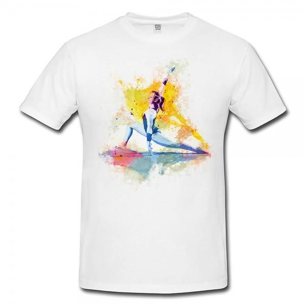 Turnen X Herren und Damen T-Shirt Sport Motiv aus Paul Sinus Aquarell