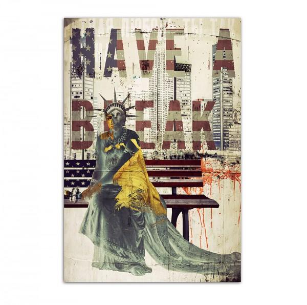 Have a break, Art-Poster, 61x91cm