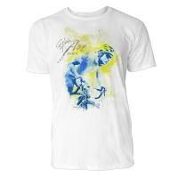 Radler Porträt Sinus Art ® T-Shirt Crewneck Tee with Frontartwork