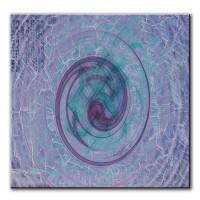 Sinnliche Ruhe, abstrakt, 60x60cm