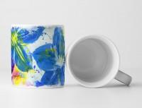 Blume V Tasse als Geschenk,  Design Sinus Art