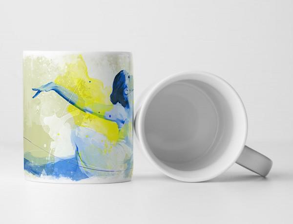 Ballett Tasse als Geschenk, Design Sinus Art