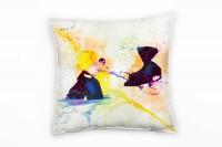 Aikido I Deko Kissen Bezug 40x40cm für Couch Sofa Lounge Zierkissen