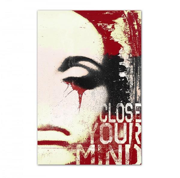 Close your mind, Art-Poster, 61x91cm