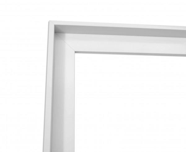 Schattenfuge XXL Lack Weiß schmale Sichtkante