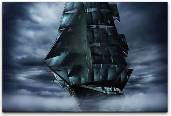 Geisterschiff Wandbild in verschiedenen Größen