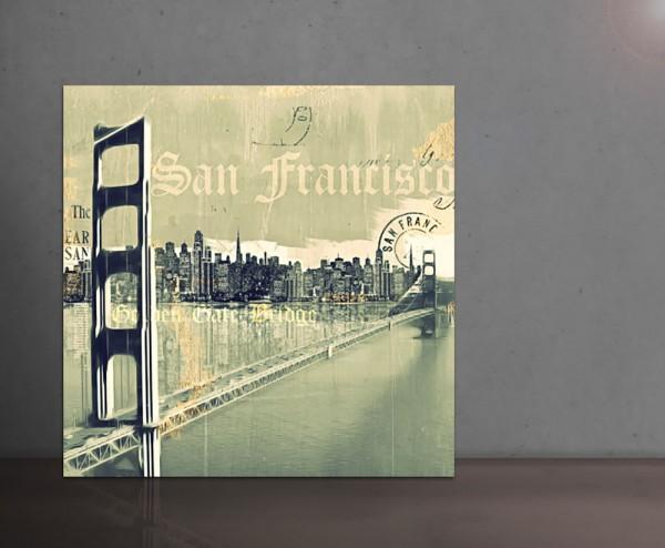 SAN FRANCISCO II 100x100cm