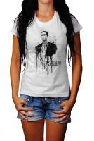 Antonio-Banderas Herren und Damen T-Shirt BLACK-WHITE