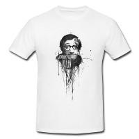 Woody-Allen Herren und Damen T-Shirt BLACK-WHITE