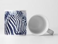 Zebra II Tasse als Geschenk,  Design Sinus Art