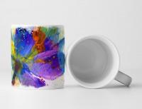Blume III Tasse als Geschenk,  Design Sinus Art