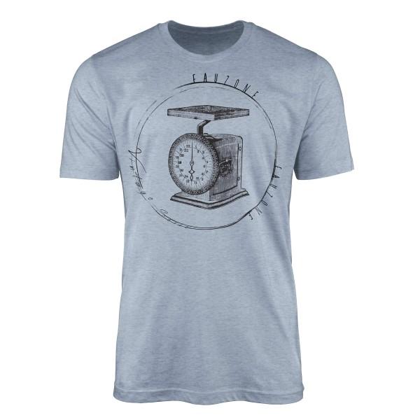 Vintage Herren T-Shirt Küchenwaage
