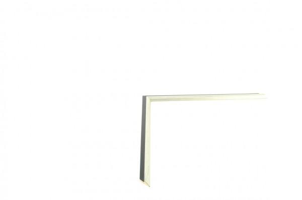 Echtholz Bilderrahmen CANALETTO - Einlegeleiste Silver