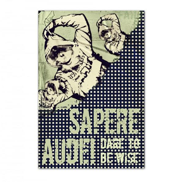 Sapere Audi, Art-Poster, 61x91cm
