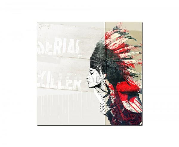 SERIALKILLER 1 -100x100cm