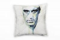 Al Pacino Scarface II Deko Kissen Bezug 40x40cm für Couch Sofa Lounge Zierkissen