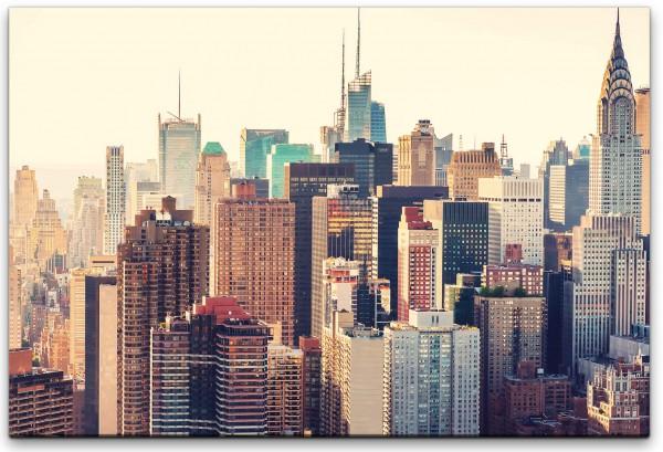 New York Twilight Wandbild in verschiedenen Größen