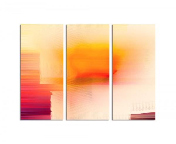 130x90cm Wandbild Abstrakt177 -3x90x40cm