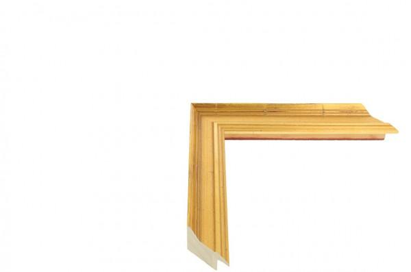 Echtholz Bilderrahmen ACADEMIE - Gold