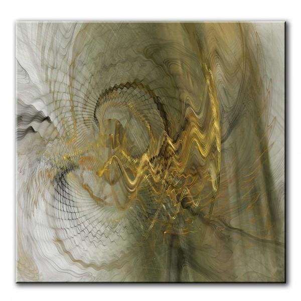 Tanz des Engels, abstrakt, 60x60cm