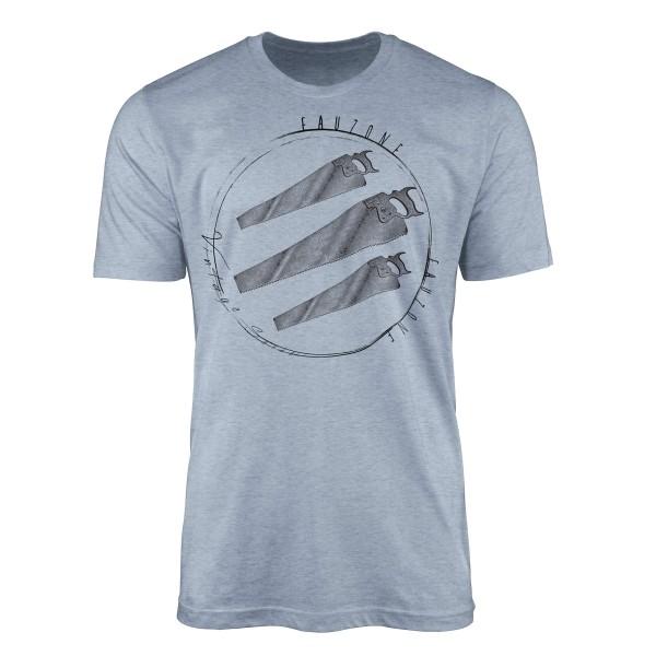 Vintage Herren T-Shirt Säge