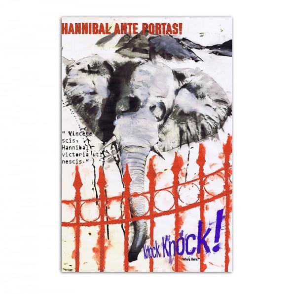 Hannibal ante portas, Art-Poster, 61x91cm