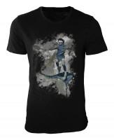 Tennis IV Damen und Herren T-Shirt schwarz / black