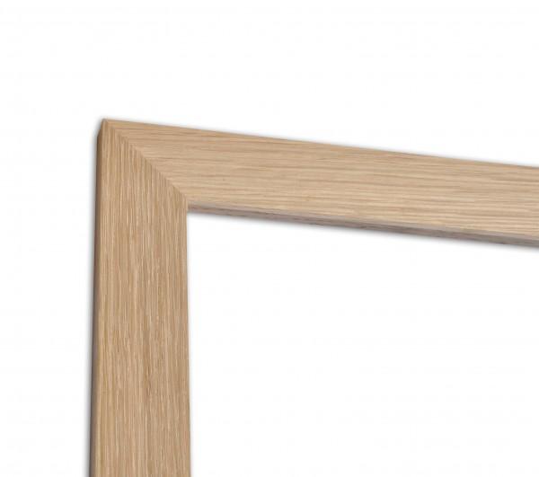 Moderne Bilderleiste Solid Wood Eiche Roh
