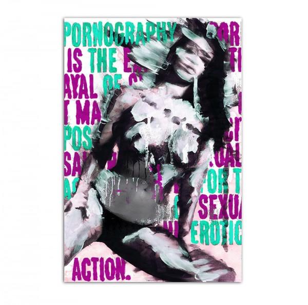 Pornography, Art-Poster, 61x91cm