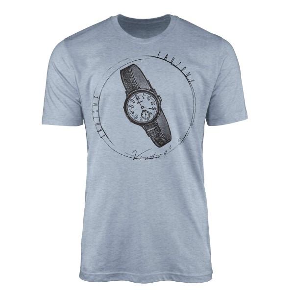Vintage Herren T-Shirt Armbanduhr