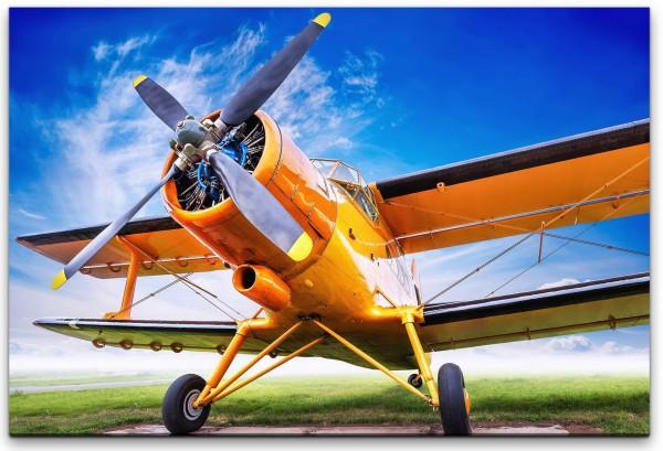 Flugzeug Wandbild in verschiedenen Größen