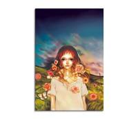 Flower Girl Fantasy Art 90x60cm