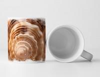 Tasse Geschenk Detailaufnahme – Muschelschale
