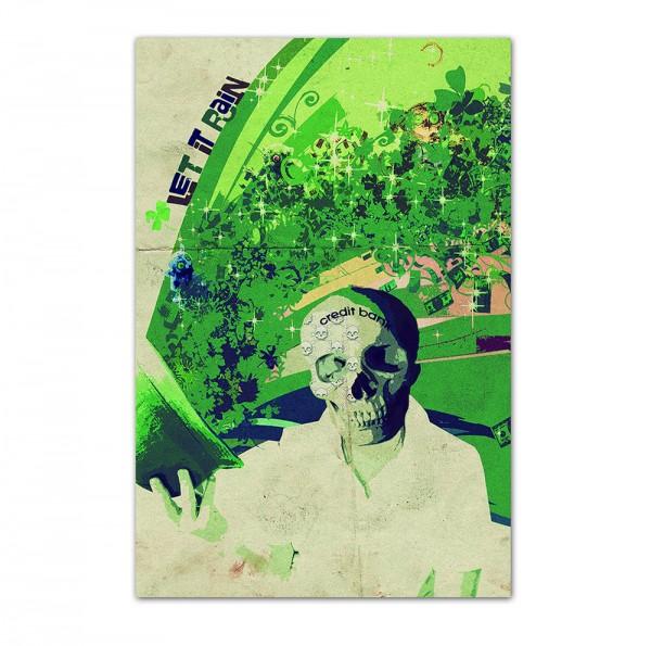 Credit Bank, Art-Poster, 61x91cm