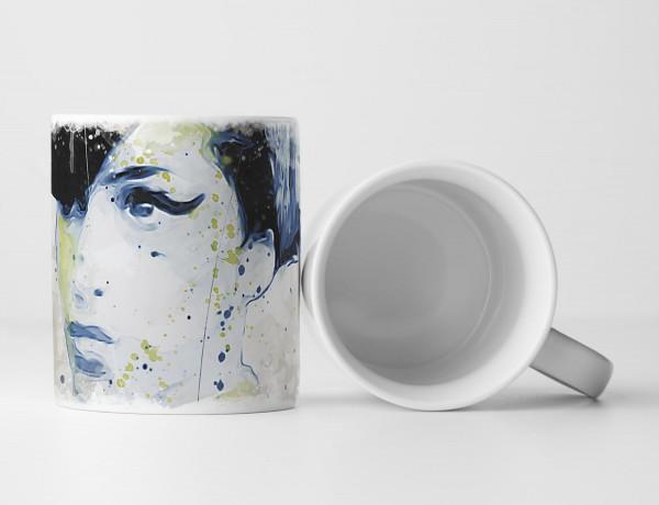 Amy Winehouse Tasse als Geschenk, Design Sinus Art
