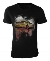 Stinger Porsche 991 Damen und Herren T-Shirt schwarz / black