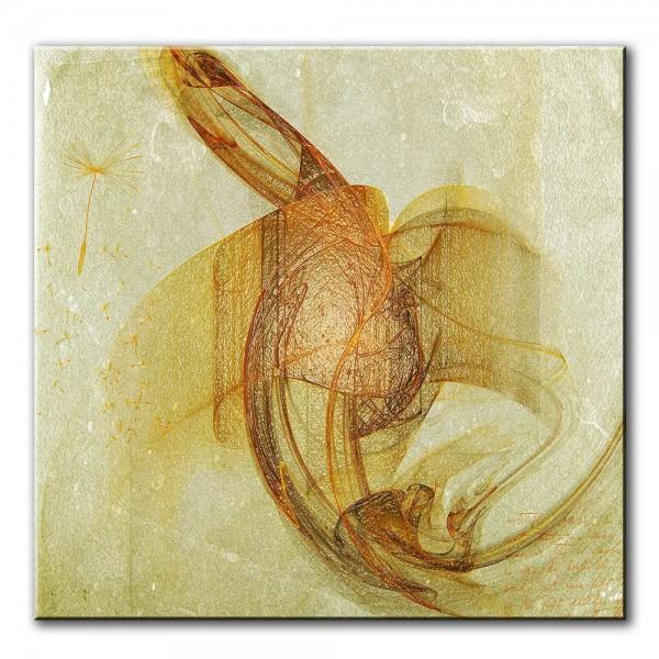 Pusteblume, abstrakt, 60x60cm
