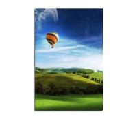 Lonley Hot Air Balloon 90x60cm