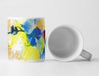 Blume Tasse als Geschenk,  Design Sinus Art