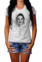 Ava Gardner Herren und Damen T-Shirt BLACK-WHITE