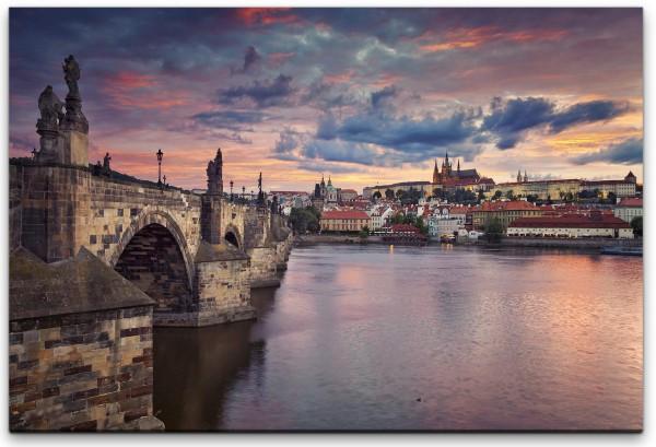 Prag Skyline Wandbild in verschiedenen Größen