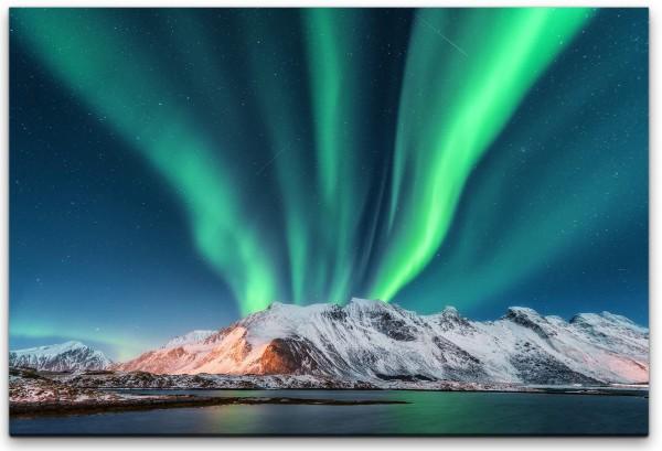 Polarlichter Wandbild in verschiedenen Größen