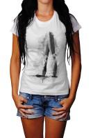 Ballett I Herren und Damen T-Shirt BLACK-WHITE