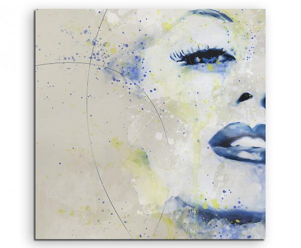 Marilyn Monroe III Aqua 60x60cm Aqua Art Wandbild