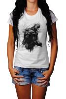 Assassins Creed Black Angel Herren und Damen T-Shirt BLACK-WHITE
