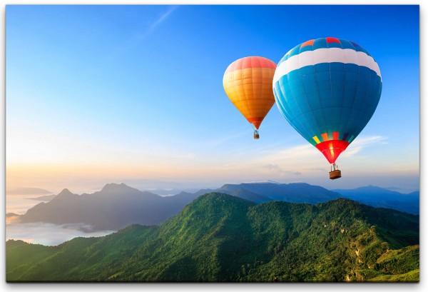 Heißluftballons Wandbild in verschiedenen Größen
